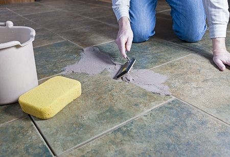 Repairing Tile and Grout Due to Water Damage